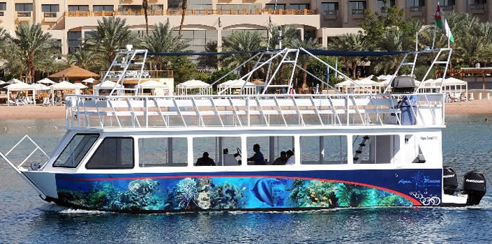 12 m Coral Viewer Glass Bottom Boat