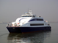Second 33m Aluminium Seacat profile
