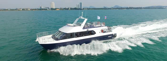 16M Power Cat Charter Boat