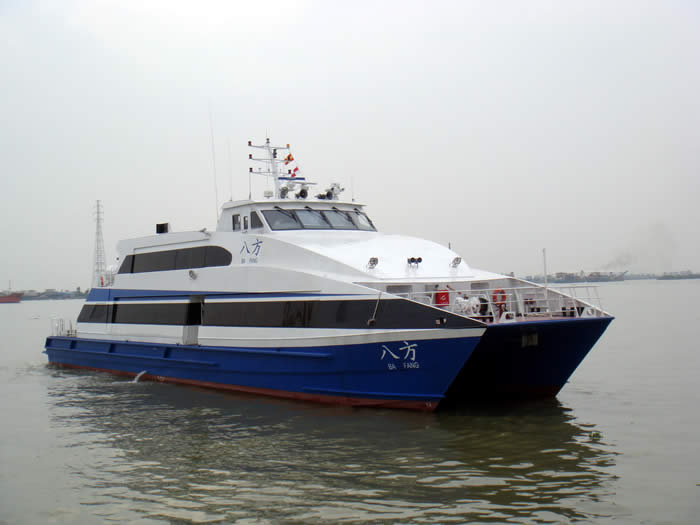 36 m seacat design fwd view