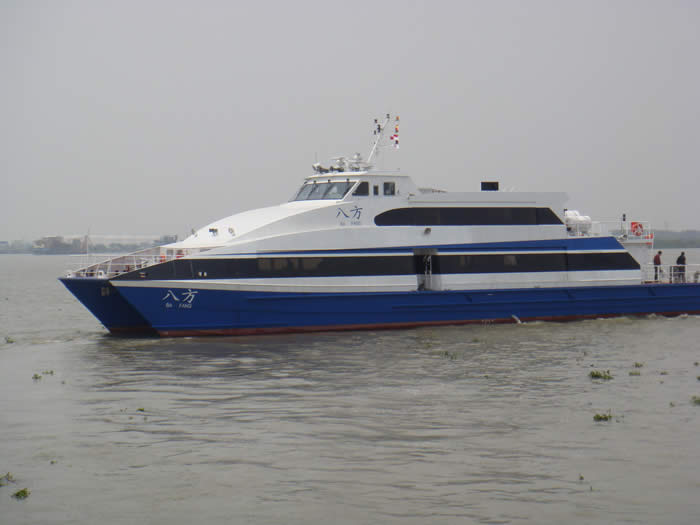 36 m ferry design profile