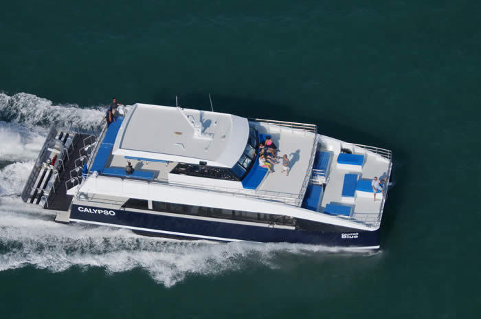 21Metre High speed dive Catamaran Calypso Blue