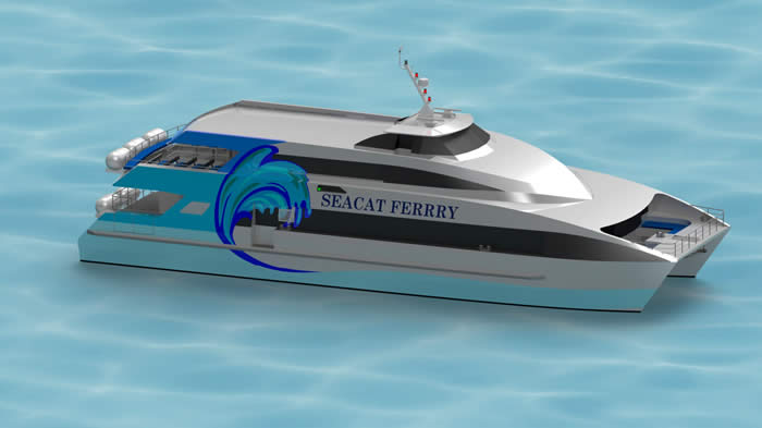 29Metre High Speed Catamaran ferry Image2