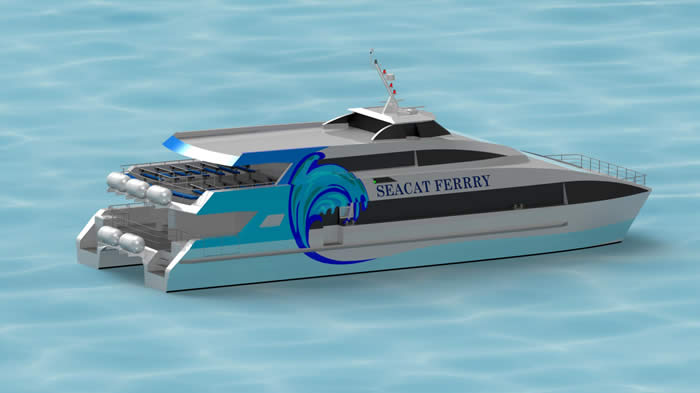 29Metre High Speed Catamaran ferry Image1