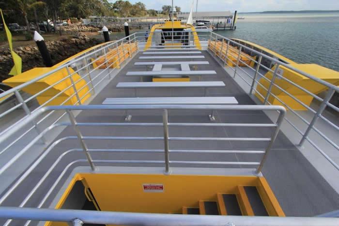 Aluminium Catamaran Ferry Roof