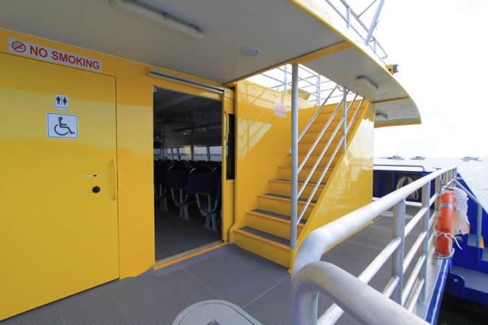 Aluminium Catamaran Ferry Back