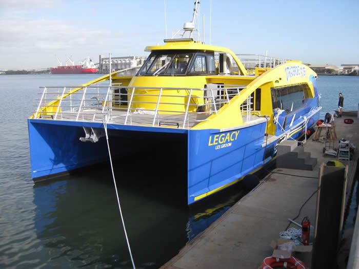 Legacy stradbroke Ferry bow