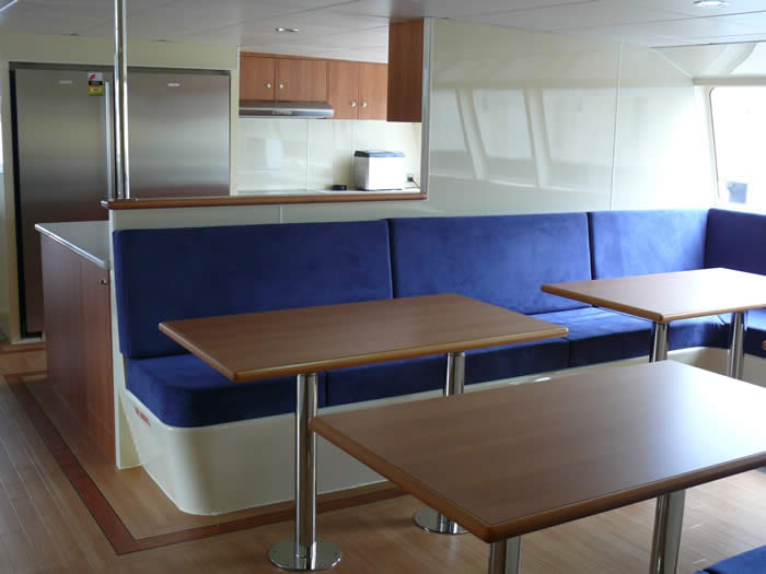 Sea cat 24 design Galley