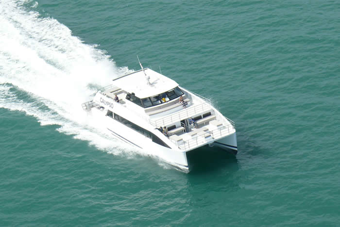 High Speed Catamaran Dive Boat Design