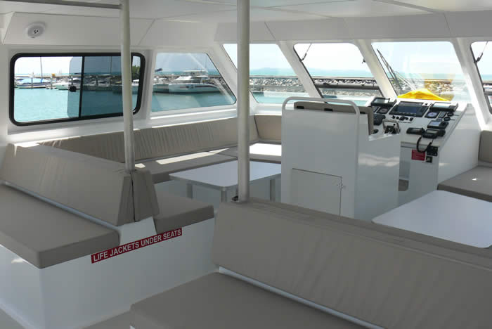 20M Dive Boat Catamaran helm