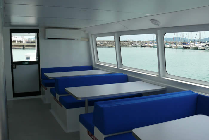20M Dive Boat Catamaran lower cabin