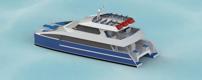 20M Ferry Design top View
