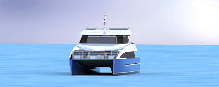 20M Ferry Design forward View