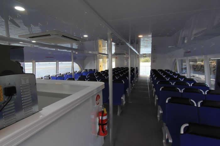Stradbroke Flyer Legacy Interior