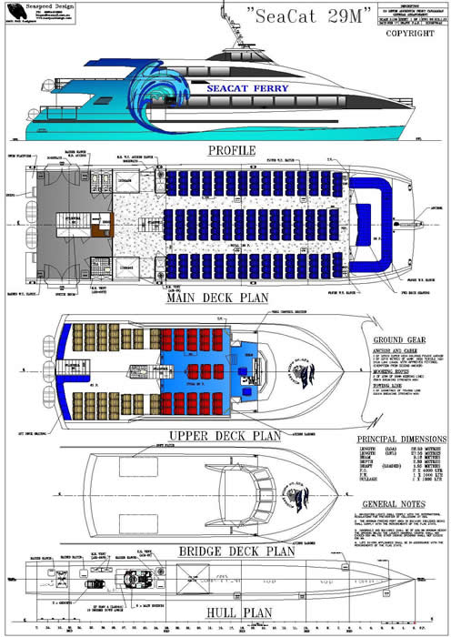 Sea Cat 29 GA Plan