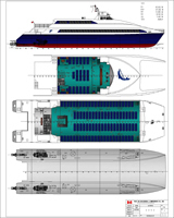 GA Plans For 41.6m Ferry