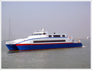 Sea Cat 42 Metre passenger catamaran design