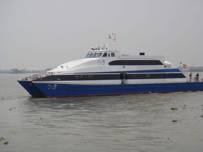 Sea Speed Aluminium Catamaran Design